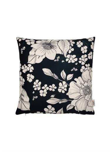 Svebo Home Svebo 45x45 cm Çiçek Desenli Yastık Renksiz
